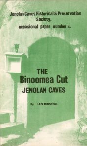 The Binoomea Cut Jenolan Caves