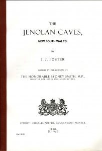 The Jenolan Caves - J.J Foster